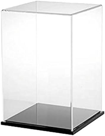 Sharplace 25x25x30cm DIY Claro Escaparate Mini Aleación Modelo De Vehículo Caja De La Caja De Presentación Cubo: Amazon.es: Juguetes y juegos