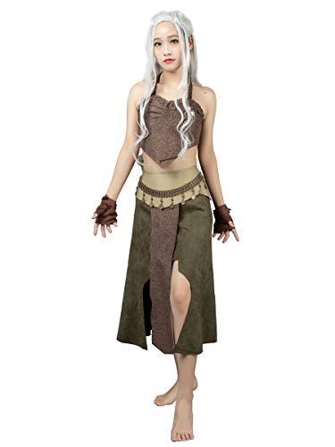 CosFantasy Daenerys Targaryen Khaleesi Tribe Cosplay Costume