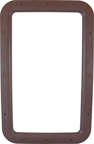 Valterra A77013 Brown Carded Interior Entrance Door Window Frame