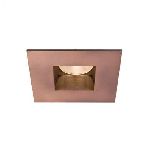 90 Circuit WAC Lighting HR-2LED-T709S9W-CB Tesla LED 2-Inch Open Square Trim 15-Degree Beam Angle 3000K