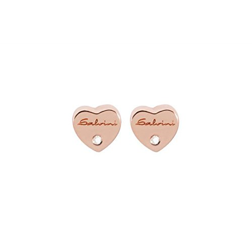 Boucles d'oreilles Salvini Be Hapy Chic 20060198 or rose diamant