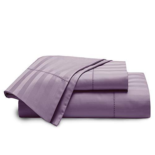 - Hotel Grand - 1000TC CVC 1/2'' Sheet Set Queen in Lavender Color