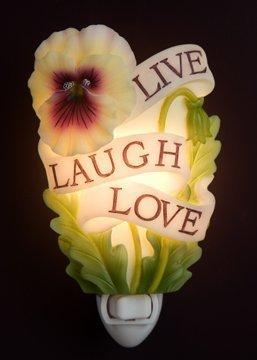 Ibis & Orchid Live, Laugh, Love Night Light #50100