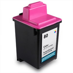 Printronic remanufactured Ink Cartridge Replacement for Lexmark 80 12A1980 (1 Color)