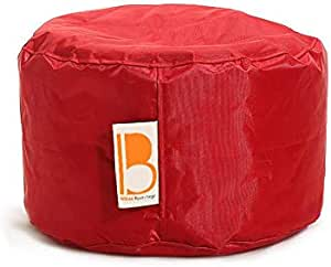 Break Desk Puff Waterproof Bean Bag, Red - 40x40x30cm