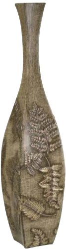 Ore International K-4224-V1 Fern Decorative Leaf Vase, 24-Inch (Vase Measures)