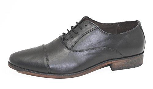 Schuhe Leder 's Up nbsp;schwarz Lace Vorhang 1808 Herren Maybury Schwarz Shark 1fqBWz