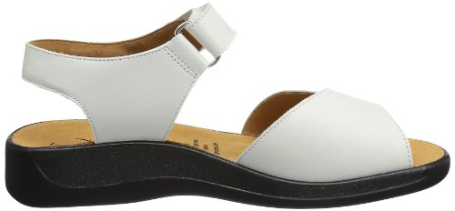 Ganter Monica, Weite G 5-202591-02000 - Sandalias de cuero para mujer Blanco