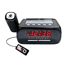 Supersonic SC-371 Digital Projection Alarm Clock with AM- FM Radio