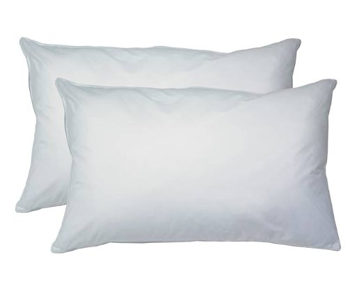 2-Pack Hypoallergenic Down-Alternative, Bed Pillow