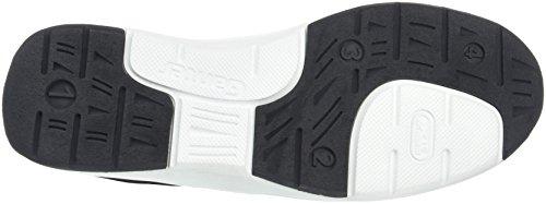 Ganter Gianna, Weite G, Zapatos de Cordones Brogue para Mujer Negro - Schwarz (schwarz 0100)