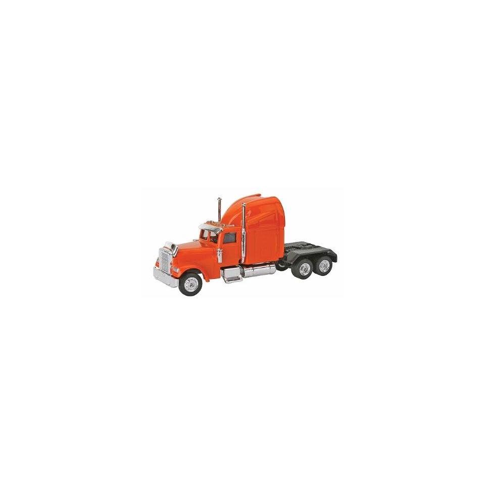 20203 1/87 Freightliner Semi Truck Cab Orange HO