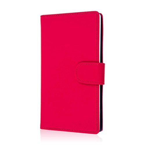 EMPIRE ZTE Grand X Max Wallet Case, MPERO Flex FLIP Wallet Case for ZTE Grand X Max - Hot Pink