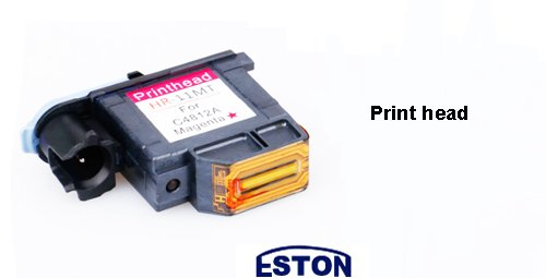 1 PK Remanufactured Printhead for HP 11 C4810A Black Designjet 10 20 50 100 120