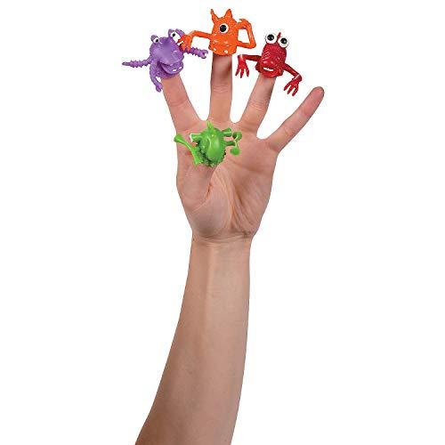 [해외]Fun Express - Monster Finger Puppets - Toys - Character Toys - Finger Puppets - 24 Pieces / Fun Express - Monster Finger Puppets - Toys - Character Toys - Finger Puppets - 24 Pieces