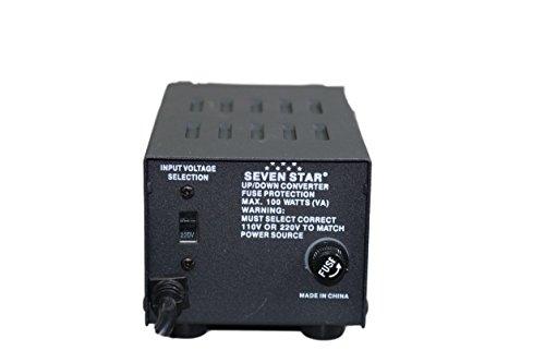 SEVENSTAR 100W Maximum Capacity, Heavy-Duty Continuous Use T