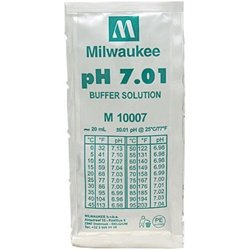 Packet 7.01 Buffer (Milwaukee Instruments 7.01 Calibration Solution, Single Use Packet, 20ml)