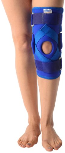 b3fd2ef23a Image Unavailable. Image not available for. Colour: Vissco Neoprene Hinged  Knee Brace ...