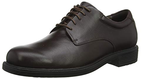 Rockport Men's Margin Oxford,Chocolate,12 XW US
