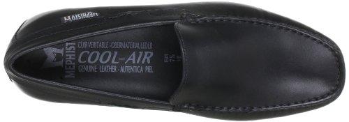Mephisto-Mocassin-ALGORAS Noir cuir lisse 384-Homme-44,5 FR 10 EU ...