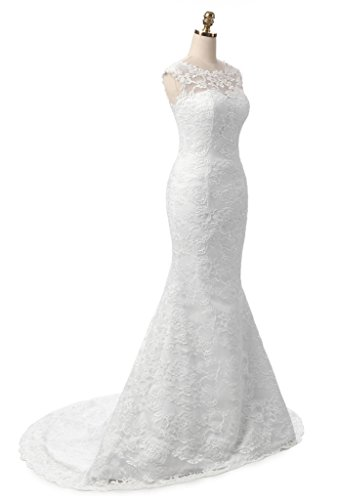Ysmo - Vestido - para mujer blanco blanco 46