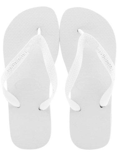 4a0734c60ace03 Havaianas Womens Top White Flip Flops Sandals  Amazon.co.uk  Shoes   Bags
