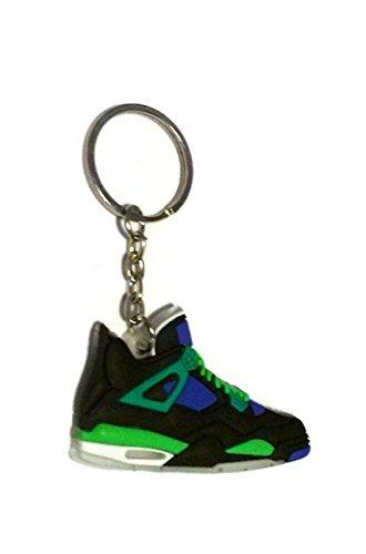 e9b560f8a46 ... Jordan IV4 DB Doernbecher Superman LS Sneakers Shoes Keychain Keyring  AJ 23 Retro ...