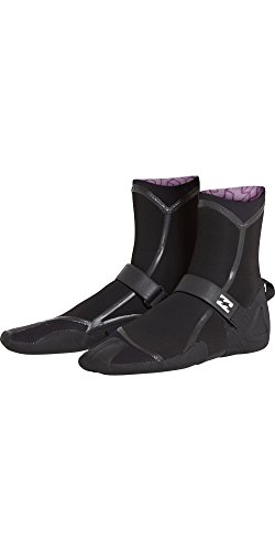 Billabong Furnace Carbon Ultra Split Toe Womens Wetsuit Boots UK 10 Black