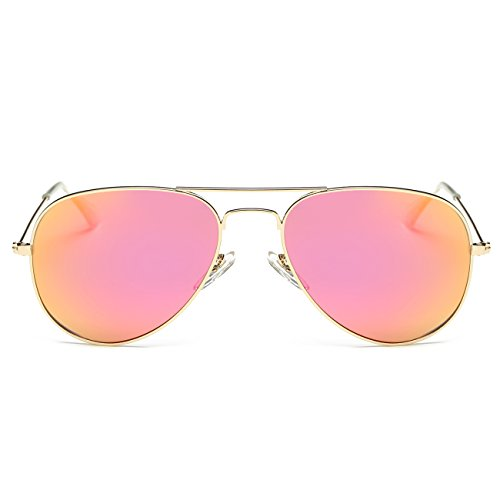 Party Frame Frame Women Lens Metal Man Round Travelling Sports Climbing UV Anti Style Outdoor Gradient Gold For Driving Sunglasses Fishing Eyewear Pink Fashion Decorations Polarized Punk Mirror Lens Sunglasses Indoor Protection P8qBxXnA