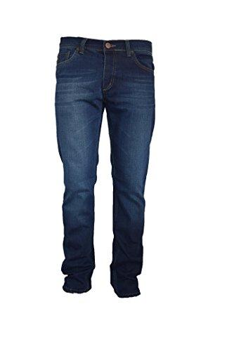 Lisdon Jeans Herren Hose Men Casual Pant Regular Fit Straight (W34/L34)