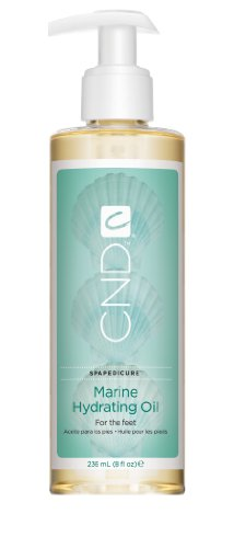 Creative Nail Marine Hydrating Oil, 8 Fluid Ounce (Pedicure Massage Oil)