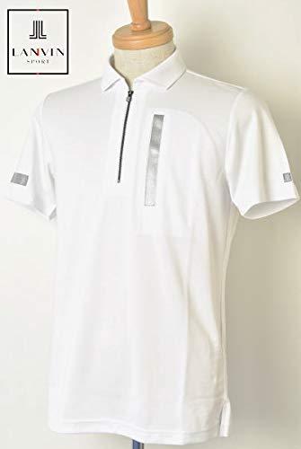 [ランバン スポール] ゴルフ 半袖ハーフジップシャツ トップス メンズ LL(42) ホワイト(WH01) B07Q8J5YCT