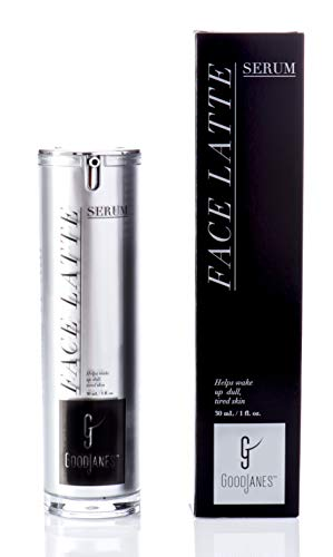 (GoodJanes Kiss My Lash Face Latte Facial Serum With Vitamins, Essential Oils And Extracts)