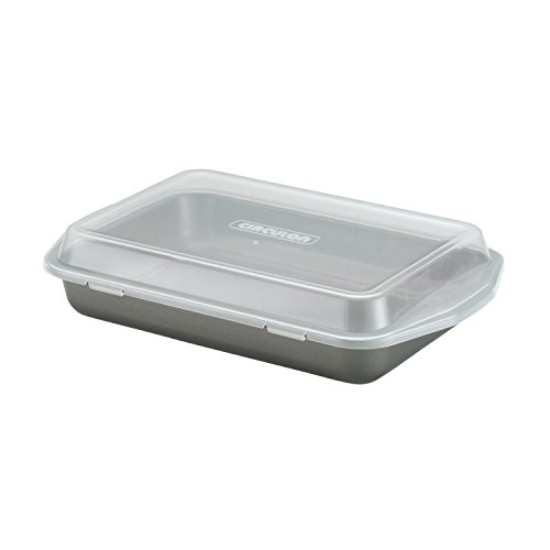 Circulon 9 Inch (Circulon Nonstick Bakeware 9-Inch-by-13-Inch Rectangular Cake Pan with Lid)