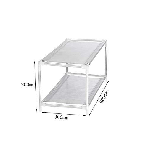 - Multi Layer Tier Optional Metal Shoe Rack Storage Organizer Stand Shelf Holder - Hardware & Accessories Storage & Organization - (2) - 1Shoe Shelf