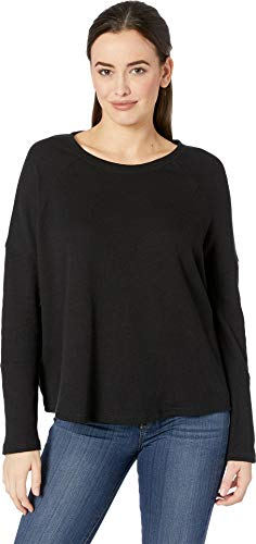 Womens Vintage Thermal - Alternative Women's Vintage Thermal Ramble Tunic Black Small