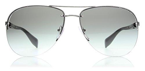 Sports Prada Shoes - Prada Sport PS56MS 5AV3M1 Gunmetal/Black PS56MS Pilot Sunglasses Lens Categor