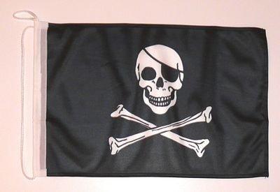 Bootsflagge Pirat Freibeuter 25 x 40 cm
