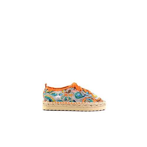 38 Eva Sole COR California CHEVA08 Colors Espadrille HC With Coral laces Of S17 qw7ZIxt