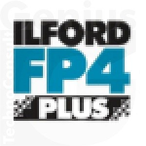 Ilford Ilford FP4 Plus Fine Grain Medium Speed Black and White Film, ISO 125, 35mm, 36 Exposures, Propack 50 by Ilford