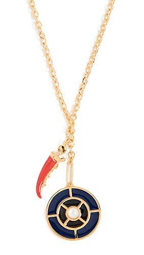 - Lizzie Fortunato Women's Fortune Necklace, Camogli, Gold, One Size