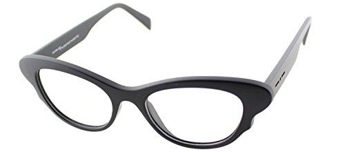 Italia Independent 5019 I-GUM 009 000 Matte Black Plastic Cat Eye ()
