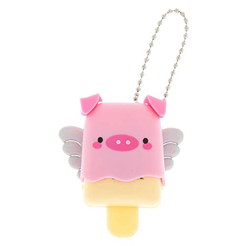 (Claire's Pucker Pops Lipgloss Key Chain Collectable Lip Balm Fun (Poppy the Pig))