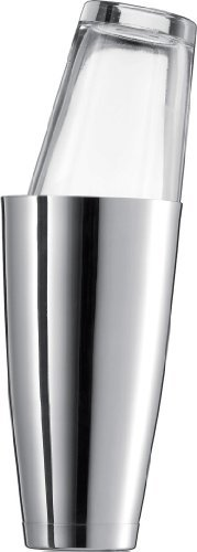 (Schott Zwiesel Basic Bar Designed by World Renowned Mixologist Charles Schumann, 2 Piece Stainless Steel and Glass Boston Shaker, 28.7-Ounce, by Schott Zwiesel)