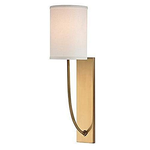 Hudson Valley Rise - Hudson Valley Lighting 731-AGB One Light Wall Sconce from The Colton Collection, 1, Aged Brass