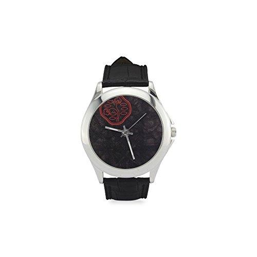 Lotus - Reloj de pulsera para mujer, estilo antiguo, correa de piel, moderno