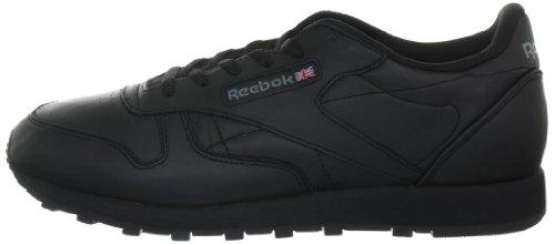 Reebok Classic Leather Zapatillas, Mujer Negro (Int / Black)