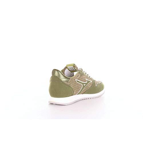 Women Mizuno D1GB1845 and Green White Sneakers wHAEqYH