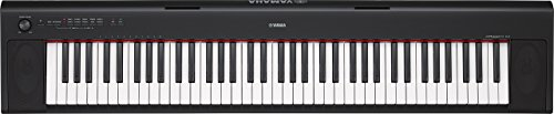 Yamaha NP32 Portable Digital Piano – (Black) (Renewed)