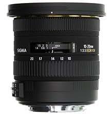 Sigma 10-20mm F3.5 EX DC HSM SLR Wide lens Negro - Objetivo (SLR, 13/10, Wide lens, 0,24 m, 102,4°, Nikon)
